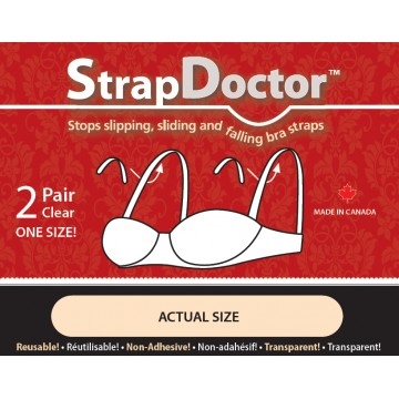 Strap Doctor 2 Pairs of Clear Inserts