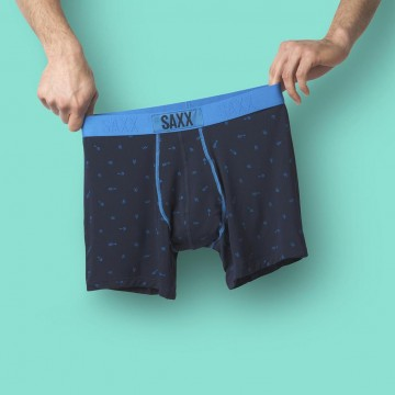 Saxx Vibe - Navy Arrow