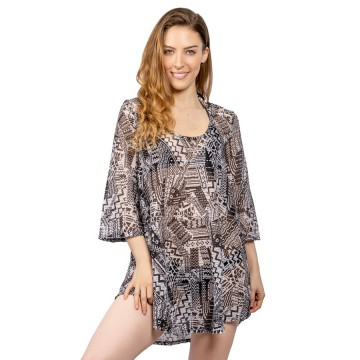 Jordan Taylor Serengiti Long Sleeve Tunic