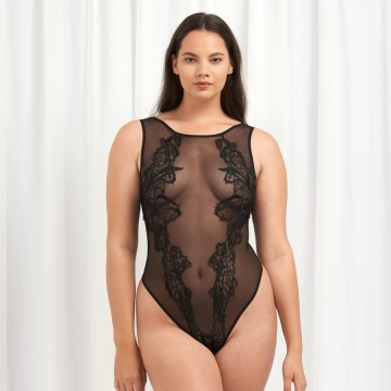 Bluebella Etienne Sheer Bodysuit