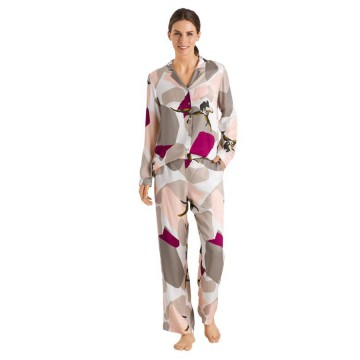 Hanro Phil Long Sleeve & Pant Pajama Set