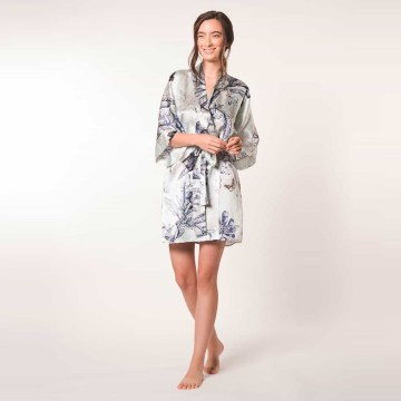 Christine Botanica Short Robe