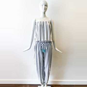 Cool Change Goa Stripe Jumpsuit