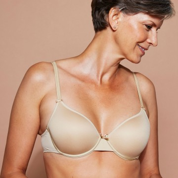 Chantelle 'Basic Invisible' Memory Foam T-Shirt Bra